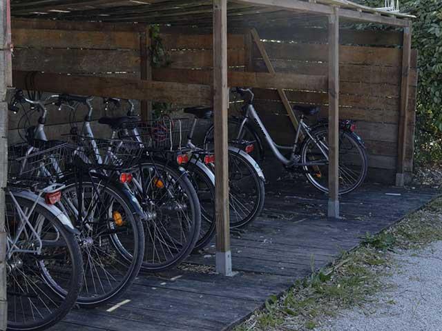 Vélos à dispo